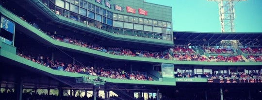 Fenway Park is one of Beantown.