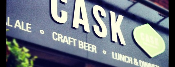 CASK Pub And Kitchen is one of Trips / London.