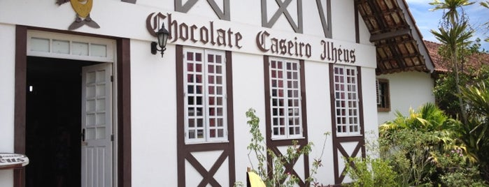 Fabrica de Chocolate de Ilhéus is one of Lugares favoritos de Dade.