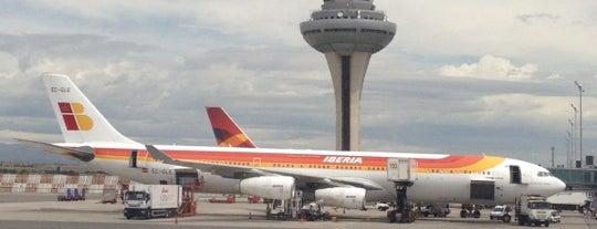 ท่าอากาศยานอาดอลโฟ ซัวเรซ มาดริด-บาราคัส (MAD) is one of AIRPORT.