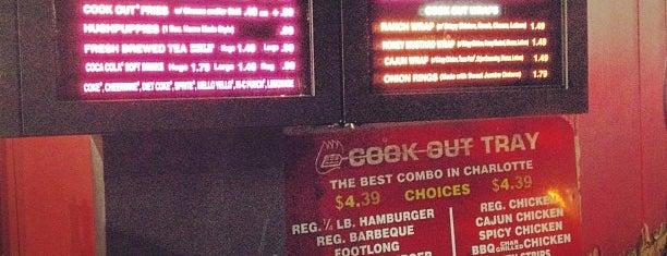 Cook-Out is one of Kevin'in Beğendiği Mekanlar.