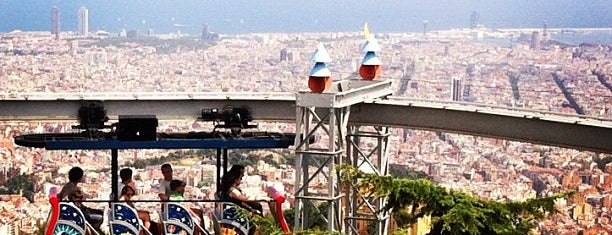 Muntanya de Tibidabo is one of Barcelona See & Do.