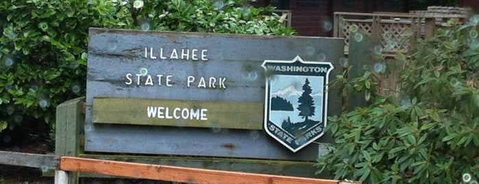Illahee State Park is one of Bremerton.