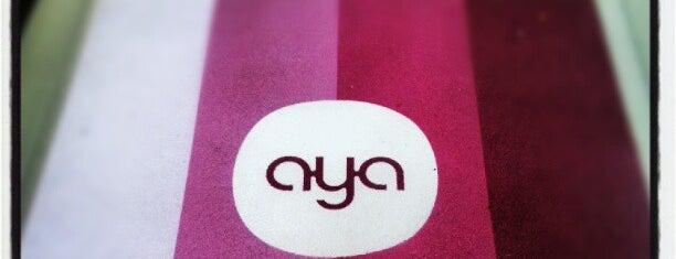AYA Bar is one of Tempat yang Disukai Etienne.