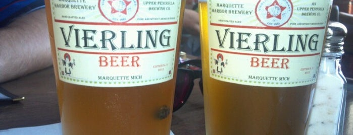 The Vierling Restaurant & Marquette Harbor Brewery is one of Michigan Breweries.