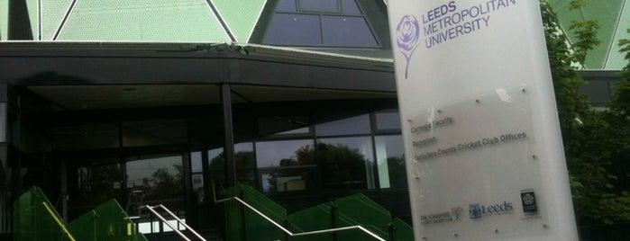 Carnegie Pavilion is one of Leeds Beckett University Buildings.