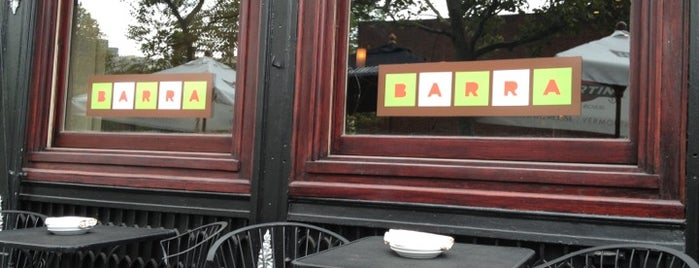 Barra is one of RESTAURANTS.