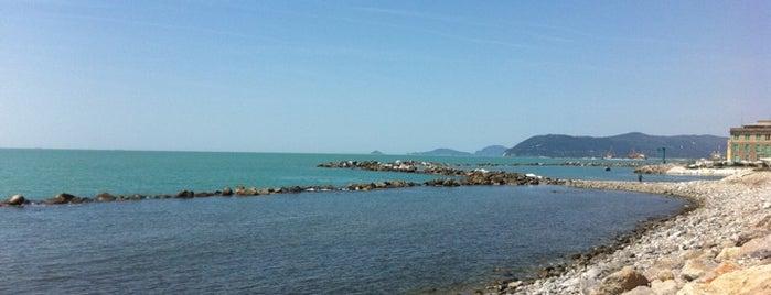 Spiaggia Marina di Massa is one of Beach.