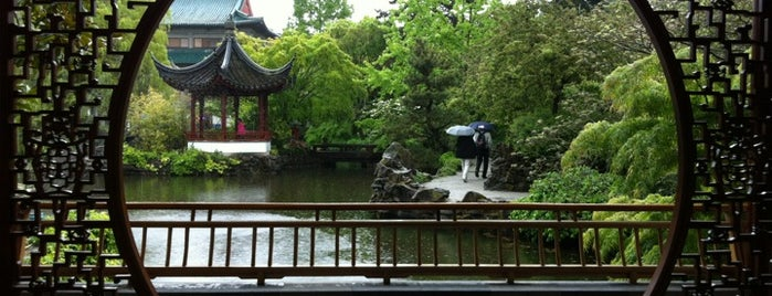 Dr. Sun Yat-Sen Classical Chinese Garden is one of Vancouver/Seattle.