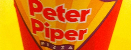 Peter Piper Pizza is one of Lieux qui ont plu à Catheryne.