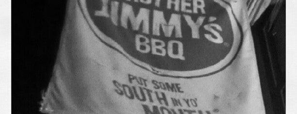 Brother Jimmy's BBQ is one of Places to go to.
