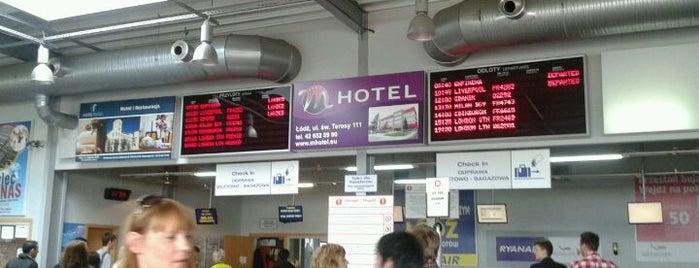 Łódź-Lublinek Airport (LCJ) is one of International Airport Lists (2).