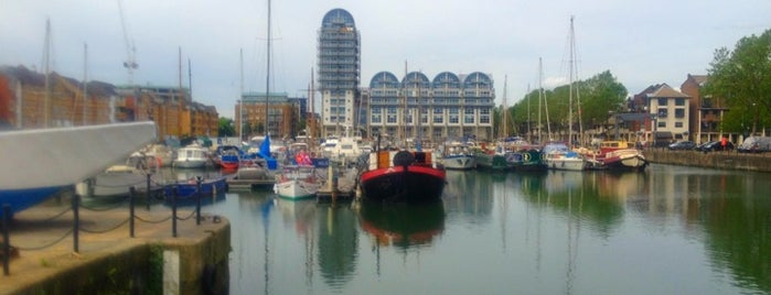 South Dock Marina is one of London.