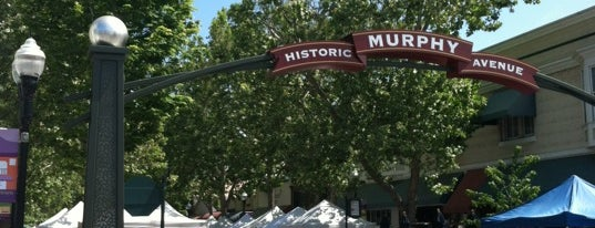Historic Murphy Avenue is one of Bay Area.