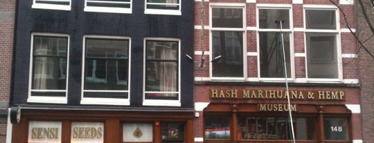 Hash Marihuana & Hemp Museum is one of Holanda.