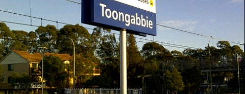 Toongabbie Station is one of Sydney Train Stations Watchlist.