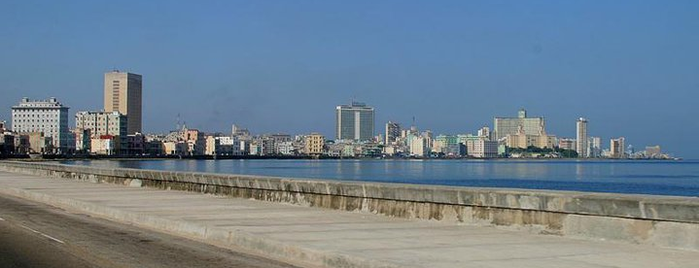 El Malecón is one of Cuba.