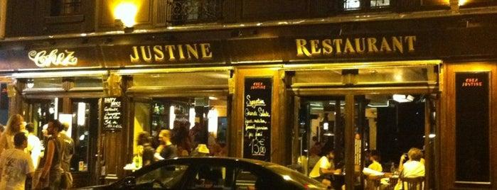 Chez Justine is one of Paris - Bonnes adresses.