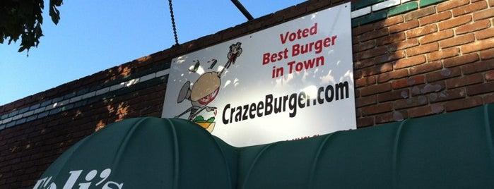 Tioli's Crazee Burger is one of 30th Street-San Diego's Boulevard of Great Beer.