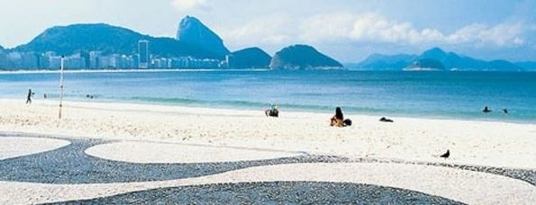 Copacabana is one of Río.