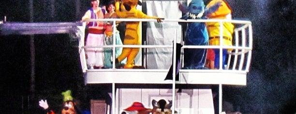 Fantasmic! is one of Walt Disney World.