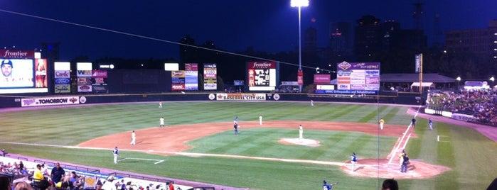 Frontier Field is one of Cool places in NY (upstate).