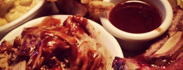 Back Forty Texas BBQ Roadhouse & Saloon is one of Lieux sauvegardés par Alan.