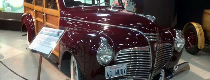 San Diego Automotive Museum is one of City in Motion.
