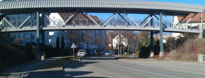 Fußgängerbrücke Feldbergstraße is one of Brücken in Rottweil.
