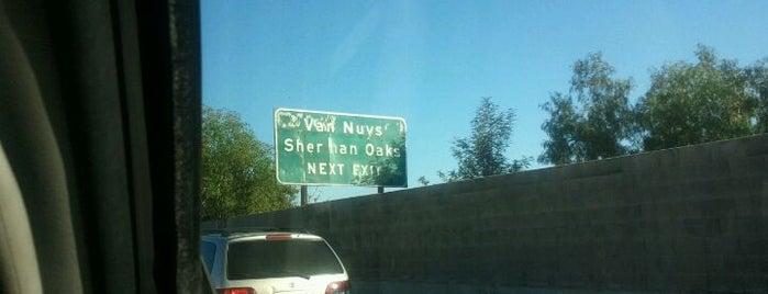 US-101 (Hollywood Freeway / Ventura Freeway) is one of benjamin: сохраненные места.