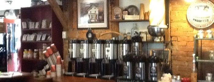 Homestead Coffee Roasters is one of Tempat yang Disukai Dolores.