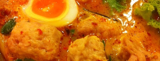 รวยแซ่บ ก๋วยเตี๋ยวต้มยำไข่หวาน is one of BKK_Noodle House_1.