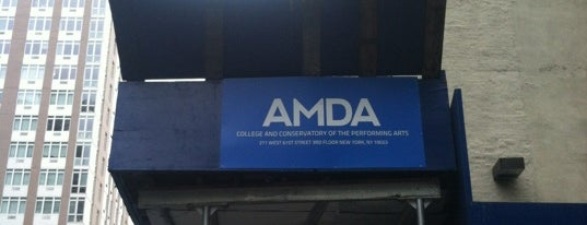 AMDA College and Conservatory of the Performing Arts is one of Zxavier's Adventures.