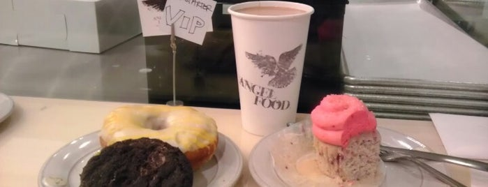 Angel Food Bakery & Coffee Bar is one of Jon's Liked Places.
