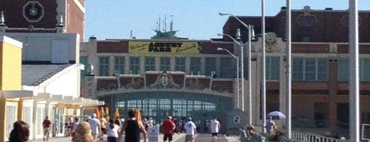 Asbury Park Boardwalk is one of NJ.