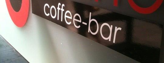 Urbano Coffee Bar is one of once.