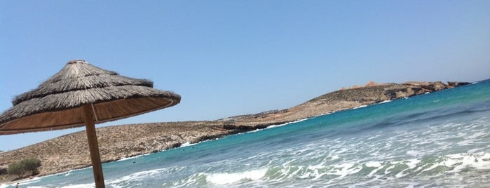 Parasporos Beach is one of Paros.