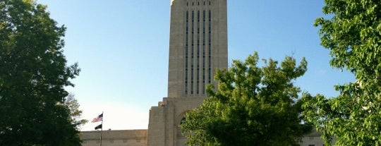 Nebraska State Capitol is one of The Crowe Footsteps.