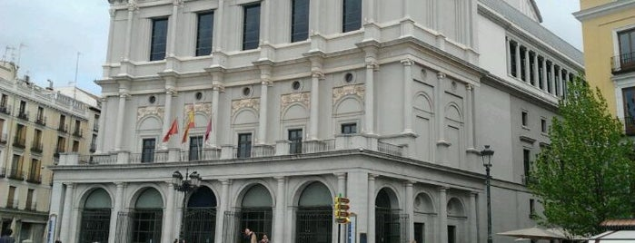 Teatro Real de Madrid is one of The Best Of Madrid.