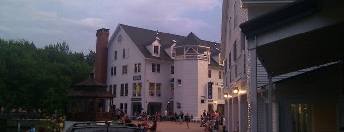 Waterville Valley Resort Town Square is one of Waterville Valley Must-Do Winter Activities.