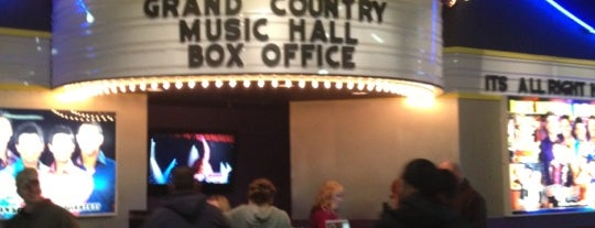 Grand Country Music Hall is one of Favorites in USA.