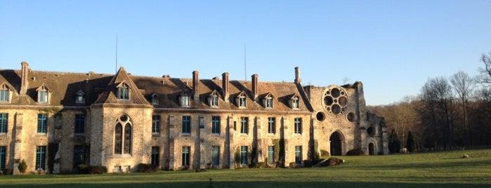 Abbaye des Vaux-de-Cernay is one of Découvrir la Forêt de Rambouillet.