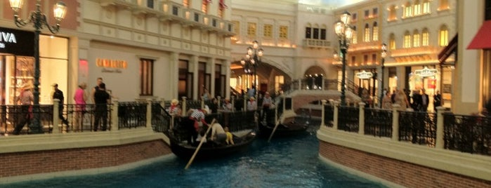 Grand Canal Shoppes is one of Places To Visit In Las Vegas.