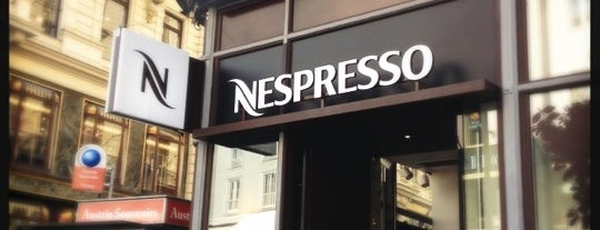 Nespresso Boutique is one of Vienna 2017.