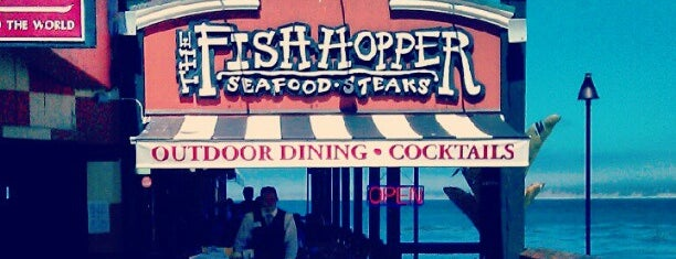 Fish Hopper Seafood & Steaks is one of Posti che sono piaciuti a Murilo.