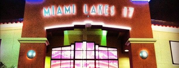 Cobb Miami Lakes 17 Theatre is one of Lieux qui ont plu à Corey.