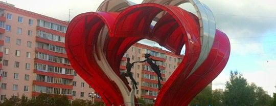 Памятник Влюбленным is one of Машенька 님이 좋아한 장소.