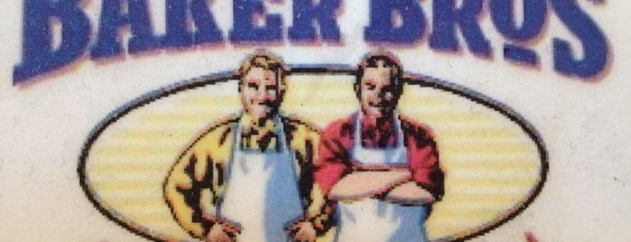 Baker Bros American Deli is one of Restaurants to try.