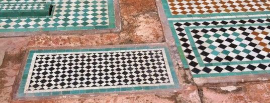Saadian Tombs is one of Marrakech.