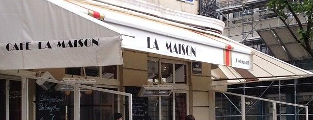 La Maison is one of Paris City Guide.